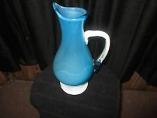 Hand Blown Murano Glass vase/ pitcher