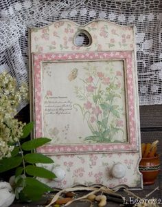 """Купить Вешалка """"В НЕЖНО-РОЗОВЫХ ТОНАХ"""" - бледно-розовый, вешалка для кухни, Вешалка для полотенец"""
