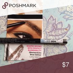 Brow Pencil - Blonde or Dk Brown  ($Firm) Long wearing easy to apply and blend.  Retractable; no need to sharpen. I just love this product! .. Bundle suggest Avon Makeup Eyebrow Filler