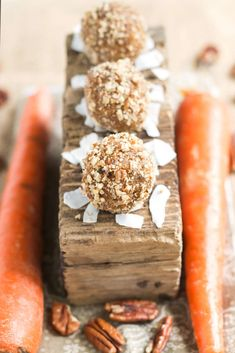 Carrot Cake Raw Balls | Gluten Free with L.B.