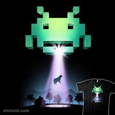 Space Invaders #abduction #cow #gaming #spaceinvaders #videogame #vincenttrinidad