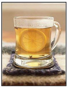 A sometimes much needed natural cold remedy, the Hot Toddy.
