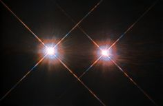 Best image of Alpha Centauri A and B, a timely ESA/Hubble Picture of the Week for the #Proximab @ESO discovery last week. Image credit: ESA - European Space Agency / Hubble Space Telescope & NASA - National Aeronautics and Space Administration Read more about the closest exoplanet to us, Proxima b, here: http://socsi.in/iT1yC Read more about this photo here: http://socsi.in/1mft4