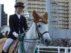 川崎競馬場の誘導馬さん