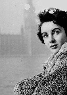Elizabeth Taylor in London, photographed by Mark Kauffman, 1948