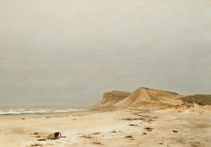 """Montauk, Long Island,"" Lockwood de Forest, 1886, oil on canvas, 17 x 24"", private collection."