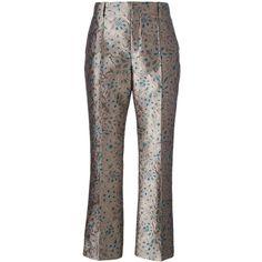 Prada metallic jacquard trousers Cheapest Price Cheap Price Hot Sale Sale Online BiXnG4