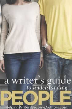 A Writer's Guide to Understanding People How you can adopt a conscious approach to understanding people on your way to writing better and more realistic characters. Writing Genres, Fiction Writing, Writing Advice, Writing Resources, Writing A Book, Writing Characters, Writing Skills, St Louis, 100 Books To Read