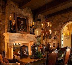 Spanish Revival dining room