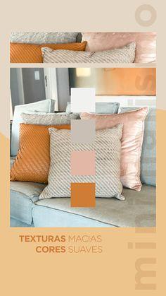 #MoodNeutro - Almofadas com couro, tramadas com diferentes fios são uma maneira elegante de criar uma composição no seu sofá. Solte a criatividade e misture texturas como veludo e diferentes tonalidades de cores. Texturas macias + cores suaves permite ousar na decoração como quadros, esculturas e tapetes. Confira as novidades no site! #OccaModerna #Decoracao #Arquitetura #PortoAlegre #HomeDesign #Decor #DecoracaoDeInteriores #Almofadas #Couro #Veludo #Textura #MixDeTexturas #Sofa…