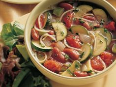 Thick Italian Winter Stew with Vermicelli