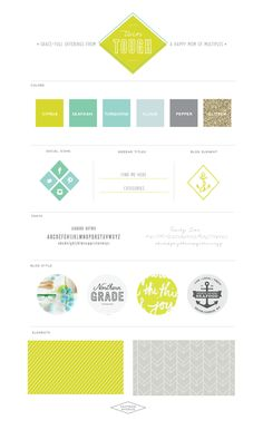 Playful Modern Blog Design :: Twin Tough