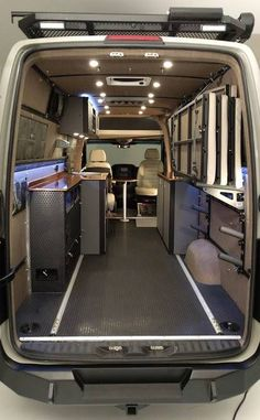 each one is custom build for you, your spec's, your wants, your needs. http://www.rbcomponents.com/sprinter-van/sprinter-van-conversions/sprinter-van-outdoor