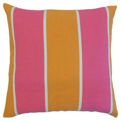 Toshi Indoor/Outdoor Pillow in Melon  at Joss and Main