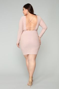 Available In BlushLong SleeveMetallic StretchLow BackStretch FabricSelf: Polyester SpandexLining: PolyesterImported White Midi Dress, Plus Dresses, Luxury Dress, Sweet Dress, Stretch Fabric, Blush, Bodycon Dress, Plus Size, Long Sleeve