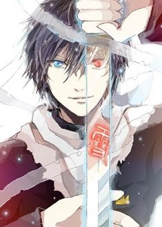 Anime/manga: Yato and Yukine (Noragami) Noragami Anime, Noragami Bishamon, Manga Anime, Fanarts Anime, Manga Art, Anime Art, Noragami Cosplay, I Love Anime, Awesome Anime