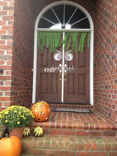 Superbe 40 Cool Halloween Front Door Decor Ideas Digsdigs The Best