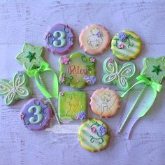 Tinkerbell Cookies (love the variety)