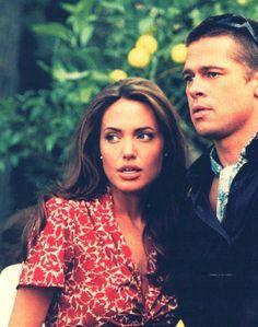Angelina Jolie ; Brad Pitt