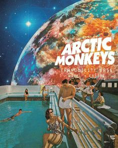 """veinsofmantra: """"Arctic Monkeys - Tranquillity Base Hotel & Casino album posters inspired by Leaf & Petal Design """" Room Posters, Band Posters, Poster Wall, Poster Prints, Poster Collage, Pop Art Posters, Graphic Design Posters, Bedroom Wall Collage, Photo Wall Collage"""