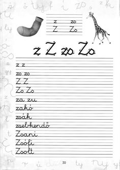 Írott betűk - kisferenc.qwqw.hu Cursive, Pre School, Grammar, Worksheets, Coloring Pages, Sheet Music, Literature, Homeschool, Album