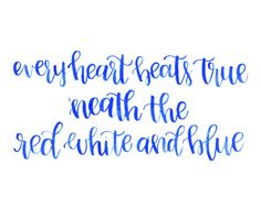 Every Heart Beats True 'Neath the Red White and Blue by JolieJoie