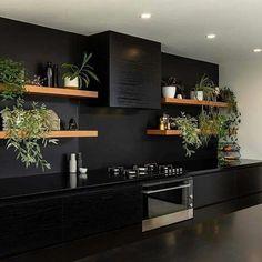 Home Kitchens, Kitchen Inspirations, Home Room Design, Kitchen Decor, Kitchen Interior, Interior Design Kitchen, Kitchen Style, House Interior, Modern Kitchen Design