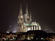 Cologne Dom Cathedral. Colone, Germany.   										  					Location: Cologne, Germany