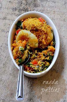 Ragda Patties Recipe - How to Make Ragda Pattice, A Popular Indian Chaat Recipe