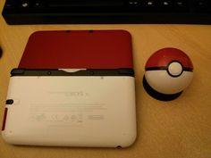 """Custom"" Pokeball 3DS XL. I want so bad."