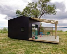 Small Prefab Shelters - The Mini House 2.0 by Jonas Wagell is Compactly Contemporary