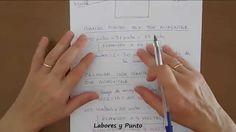 Como calcular puntos y aumentos en mangas rectas para dos agujas, ganchi...