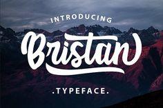 Bristan Typeface font @creativework247