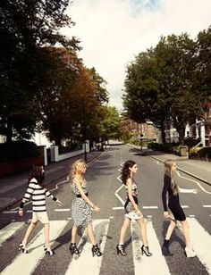 On my to do list: take a photo at Abbey Road.  Will need to find 3 people to stand with me to make it work though.