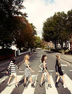 Abbey Road. La foto típica de Londres!