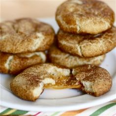 snickerdoodles with caramel inside? YES.