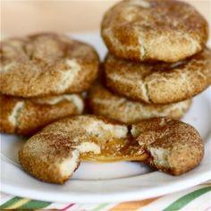 Caramel-Stuffed Snickerdoodles.