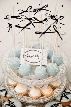 Tiffany Blue House Warming Party - Girls Night Out Antique Party - Kara's Party Ideas - The Place for All Things Party