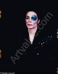 """Arno Bani, Michael Jackson """"a l'oil bleu"""", photoshoot 1999"""