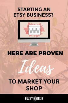 If you are starting an Etsy shop, get ready to market it!  There are lots of great ways to advertise the best Etsy shop (YOUR SHOP!) but here are the most effective ways to get your name out there!  #etsyshop #bestetsy #etsysuccess #etsybusinessideas #howtoetsy