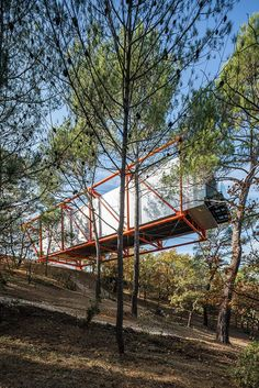RSHP completes 'richard rogers drawing gallery' at château la coste Richard Rogers, Creative Inspiration, Design Inspiration, Parc National, Cabin, France, Gallery, Architecture, House Styles