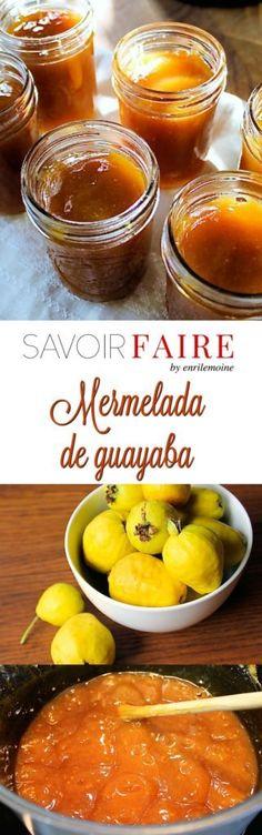 Esta receta de mermelada de guayaba, es un clásico de la gastronomía venezolana, que se prepara cocinando fruta con azúcar en partes iguales. Haz clic para ver la receta paso a paso.