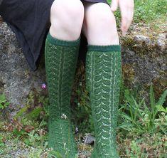 Green Lace Stocking Socks - So adorable for St Patricks Day #KissMeImIrish