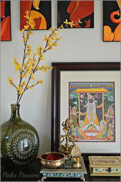 Ethnic home décor, Indian home décor, Ganesha décor, Entrance décor, Global décor, home décor.