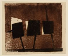 Sir Terry Frost 'Boat Shapes', c.1954 © The estate of Sir Terry Frost
