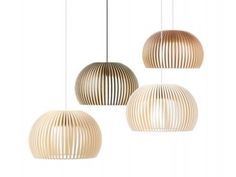 Candeeiro Atto por Seppo Koho para a Secto Design. Atto 5000 lamp, by… Suspended Ceiling Lights, Ceiling Light Fixtures, Ceiling Pendant, Ceiling Lamp, Pendant Lighting, Pendant Lamps, Lighting Cable, Lantern Lighting, Wooden Chandelier