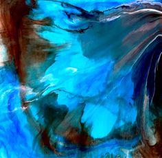 PINTURA abstracta grande pared arte gran arte por kmottart en Etsy                                                                                                                                                                                 Más
