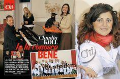 Claudia Koll è stata l'insegnante di Suor Cristina Scuccia, la sister act di The Voice
