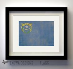 State Flag Prints. My Nevada wall is going to be awesome.