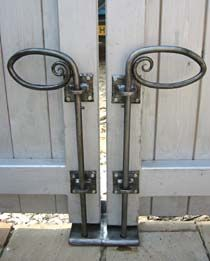 Beautiful way to re-create gate stoppers.  Love it? Get your supplies and make it today at emsupply.com.